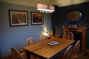 Coastguard Cottage Dining Room